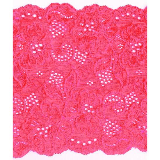 Neon pink csipke 17 cm